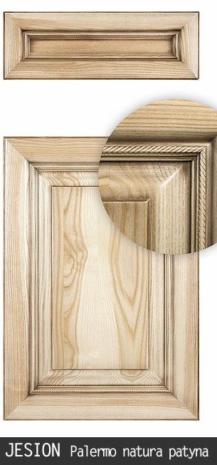 Jesion Solid Front Fronty Meblowe Fronty Drewniane Fronty