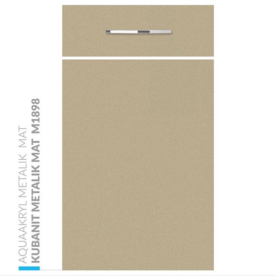 M1889 kubanit metalik mat - Fronty Akrylowe  - Akryl